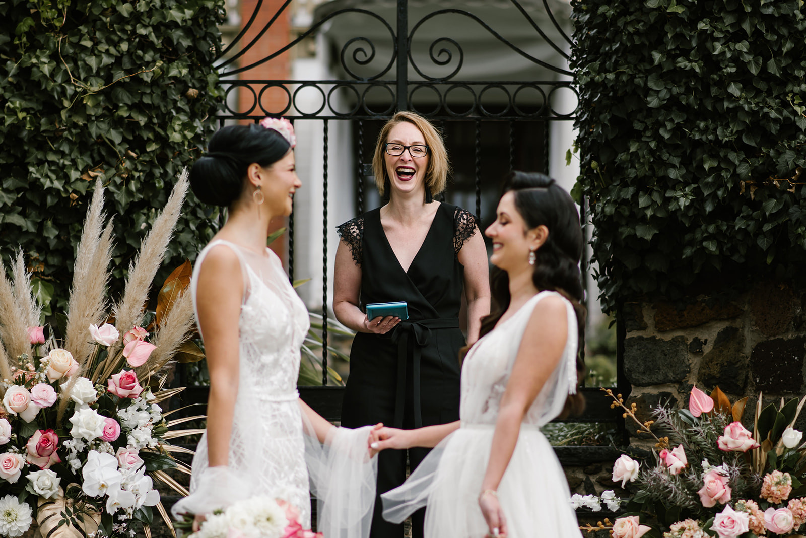 Fun wedding celebrant