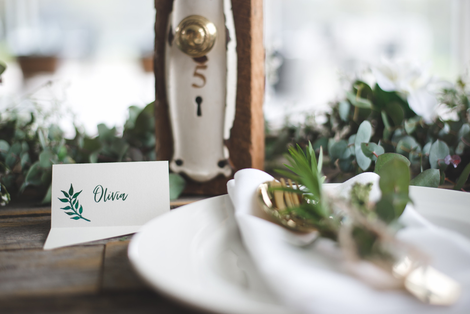 Flare place cards