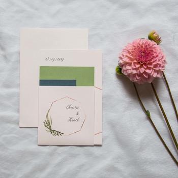 Octagon invitations