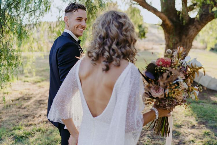 Rustic and romantic wedding