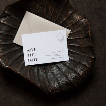 Earthy save the dates