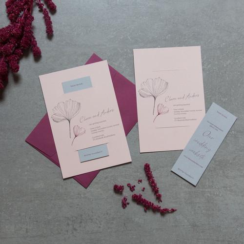 Different wedding invitations