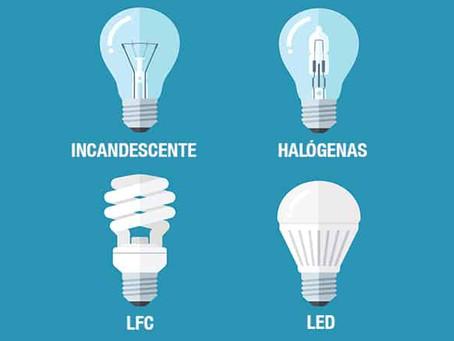Tipos e Características das Lâmpadas