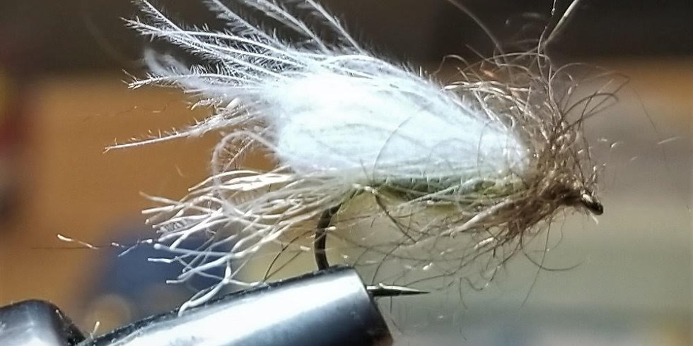 Fly Tying with CDC Materials - Intermediate skill level.