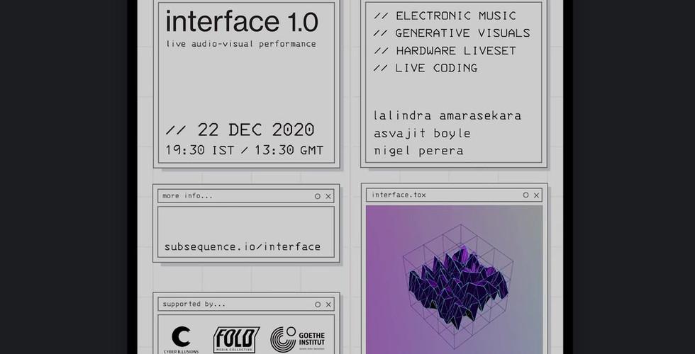 Interface 1.0