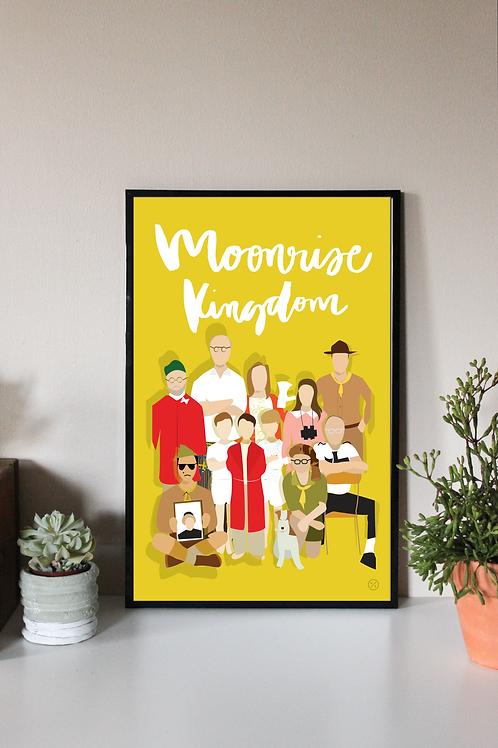 MOONRISE KINGDOM   DIGITAL PRINT