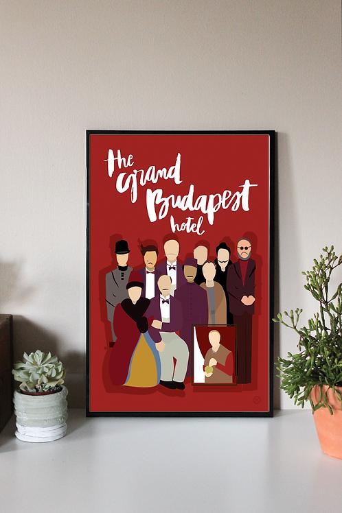 GRAND BUDAPEST | DIGITAL PRINT