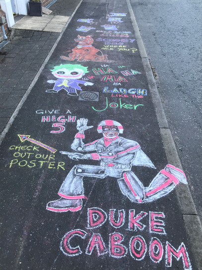 Duke Caboom, Joker and Scoob!