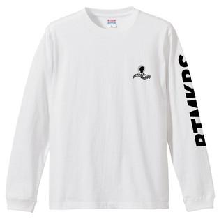 LOGO LONG T-SHIRTS WHITE