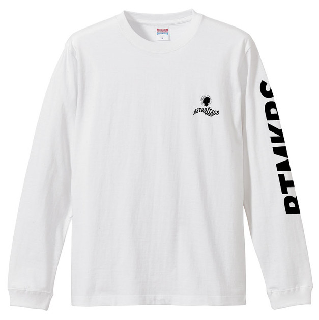 LOGO LONG T-SHIRTS WHITE