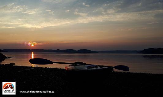 Kayak Saguenay  www.chaletssaintfelixdot