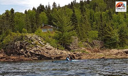 Kayak Fjord saguenay www.chaletssaintfel