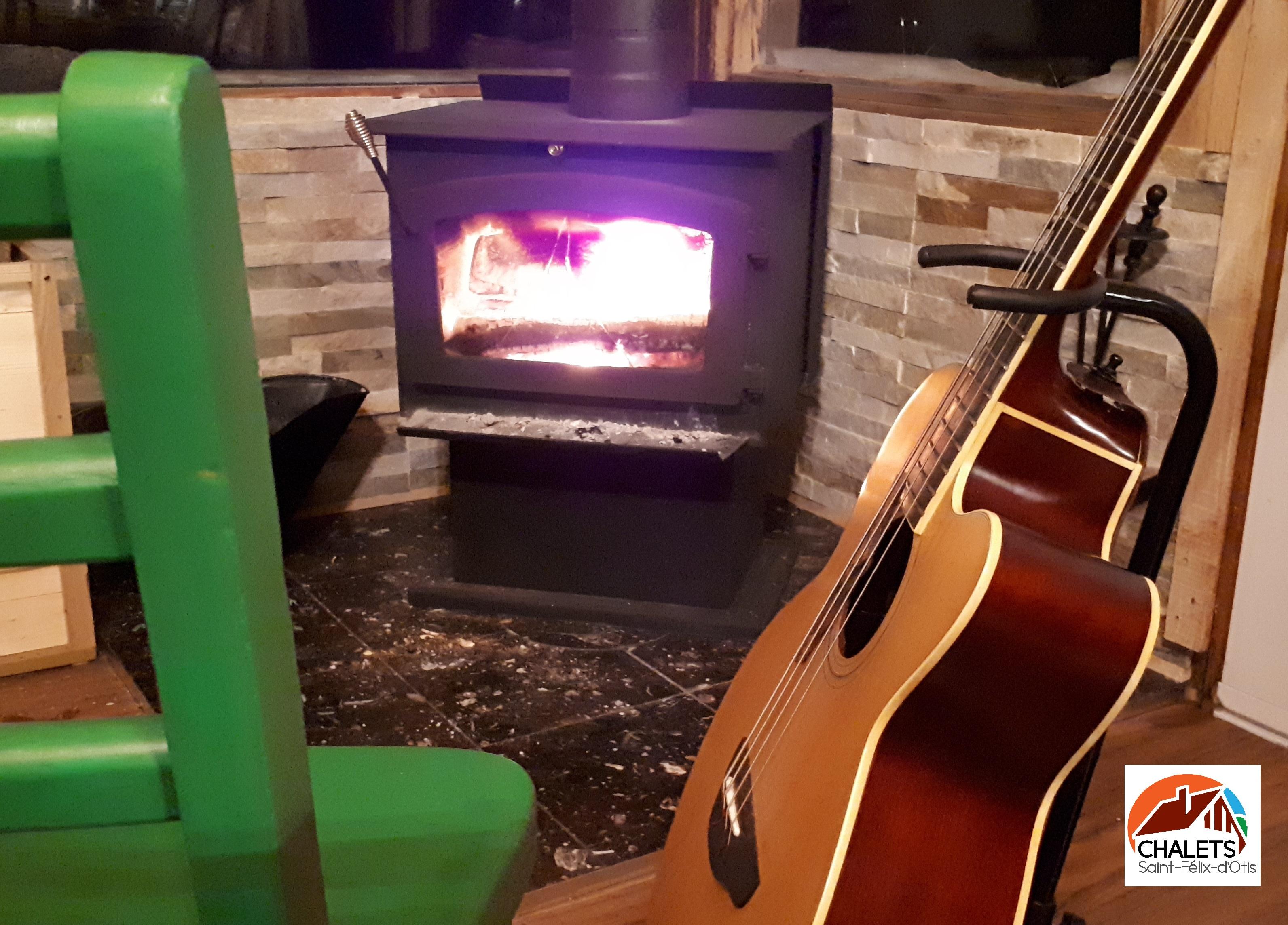 Guitare feu www.chaletssaintfelixdotis