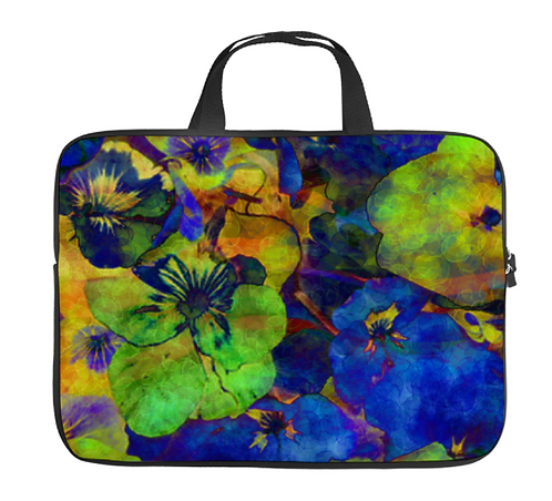 Floral Laptop Carrying Case (Various Sizes)