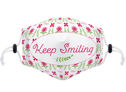 Personalised Pamela Rose Cloth Face Mask with Free Postage and Packaging