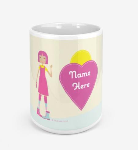 Personalised Mugs plus Free Postage
