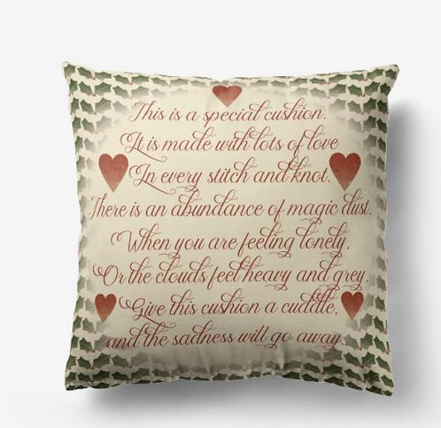 Personalised Cushion in Various Fabrics