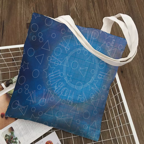 "Canvas Tote Bag with Inside Zip Pocket 38cm x42cm (15"" x16.5"") inc P&P"
