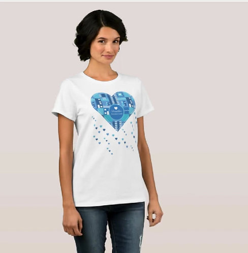 Women's T-Shirt (The Book lover's Collection) Free delivery ZTSHIRTBLC