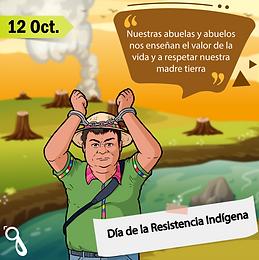 12 de octubre: ¿día de la Hispanidad o de la Resistencia Indígena?