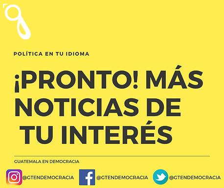 NOTICIAS SOCIALES Y POLÍTICAS DE GUATEMALA
