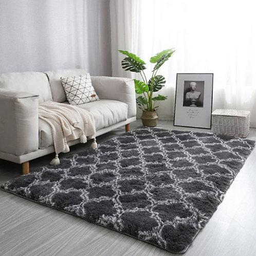 Modern Pattern Carpet Rug Ideal for Living Room Non-Slip Washable