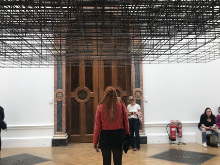 Industrialised bodies: a review of Antony Gormley at the RA
