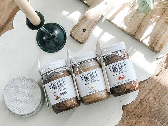 Virtue Premium Almond Butters -Salted Caramel