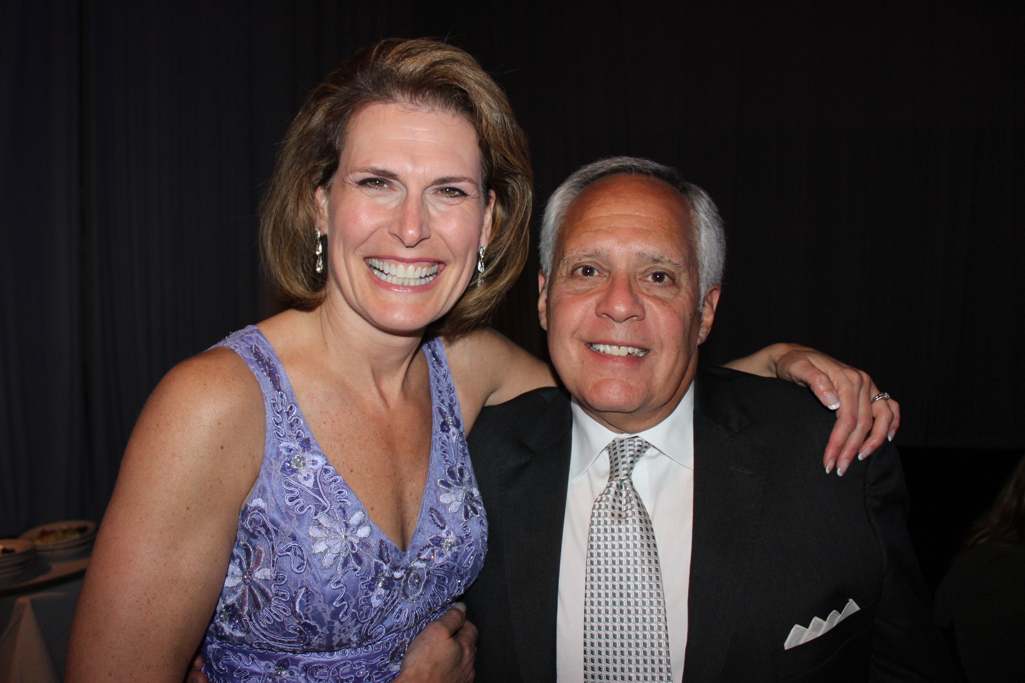 Rebecca LeClair and Joe Paglia