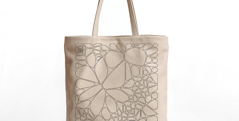 Cell Pattern Tote Bag