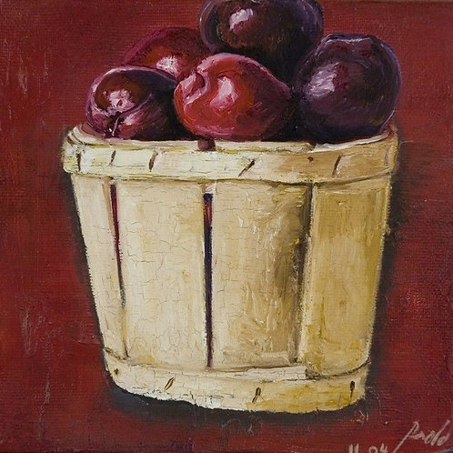 Fruit Painting for Kitchen - Plums