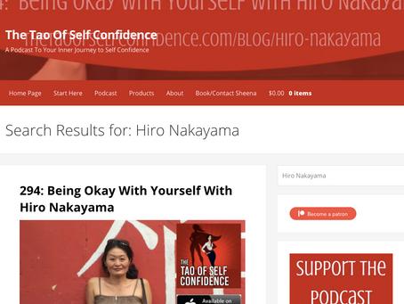 オンラインメディア「Tao of Self-Confidence」のインタビュー