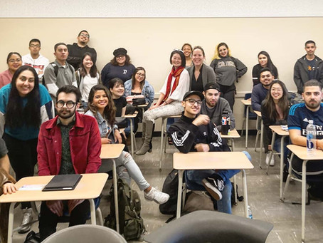 カリフォルニア州立大学にて登壇