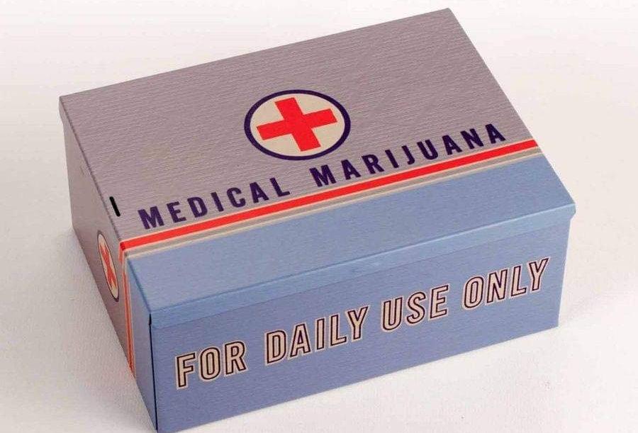 Medical Marijuana - Cigar/Storage Box