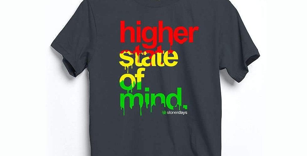 Higher State of Mind Rasta Hemp Tee