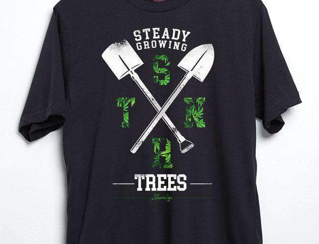 Steady Growing Trees Tee