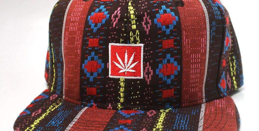 Aztec Pattern Snapback Hat