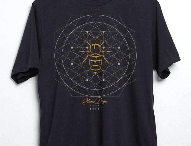 Sacred Beeometry Tee