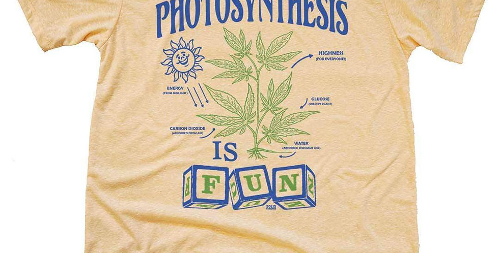 Photosynthesis is Fun T-Shirt (Tri-Gold)