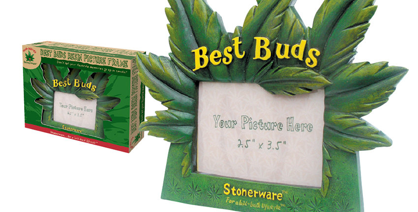 Stonerware – Best Buds Resin Picture Frame