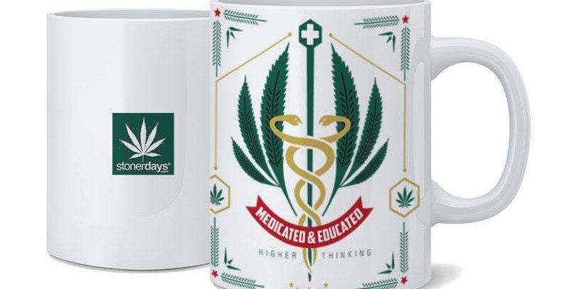 Medicated & Educated Mug