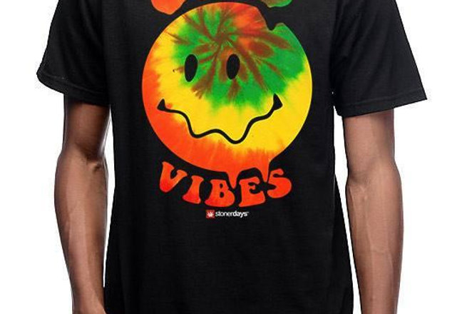 Smiley Face Good Vibes Tee