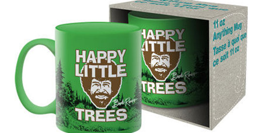 Bob Ross – Happy Little Trees Ceramic Mug