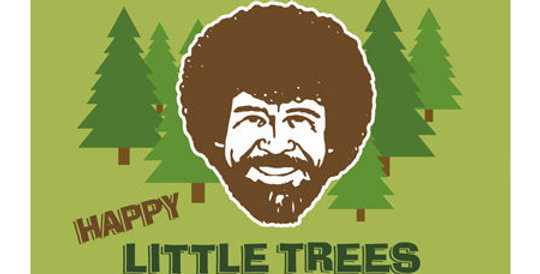 Bob Ross – Happy Trees Tin Sign