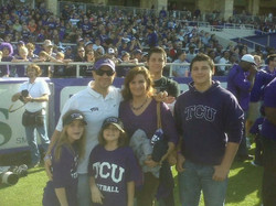 My family at TCU