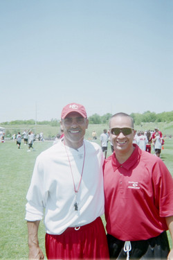 Coach Herm Edwards