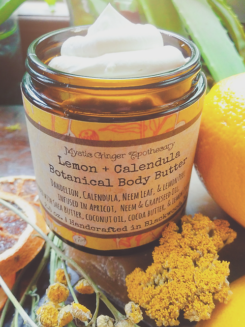 Lemon Calendula Body Butter