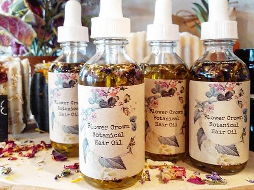 Flower Crown Botanical Hair Oil