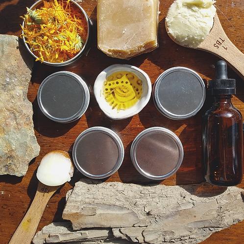 DIY Natural Lip Balm Kit