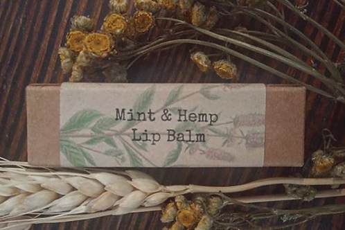 Mint & Hemp Lip Balm